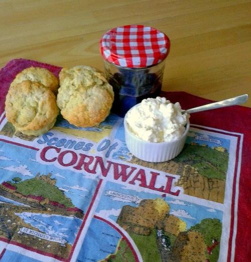 scones & clotted cream