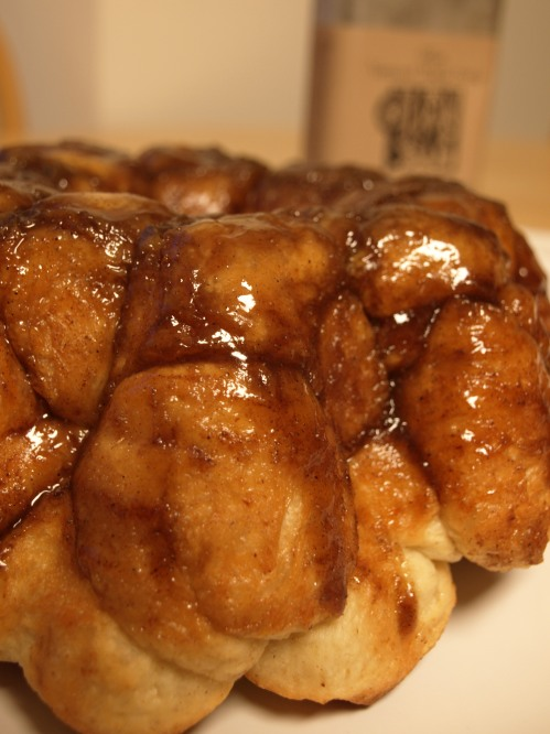Maple chai monkey bread