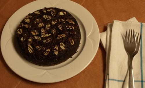 Dairy & egg free avocado chocolate cake