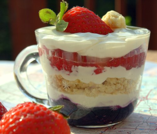Cheesecake trifle