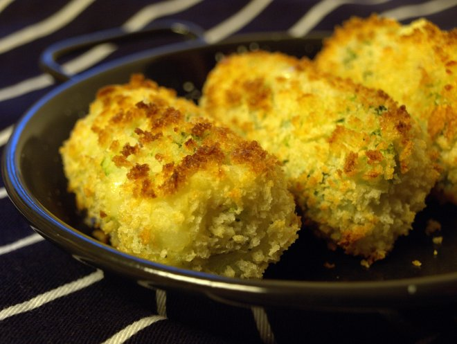broccoli and cheese croquettes