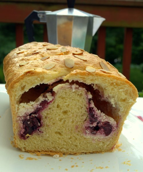 cherry cheese brioche