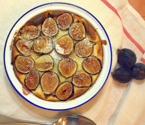Fig clafoutis