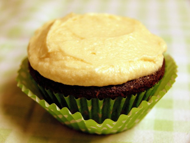 guinness & chocolate cupcakes