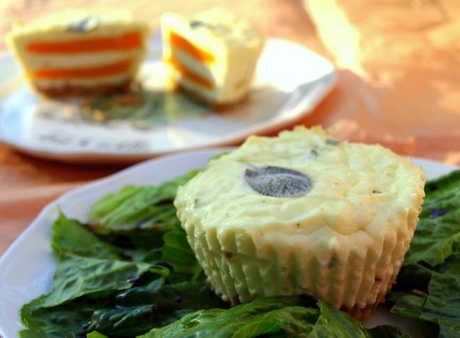 Butternut squash & sage cheesecake