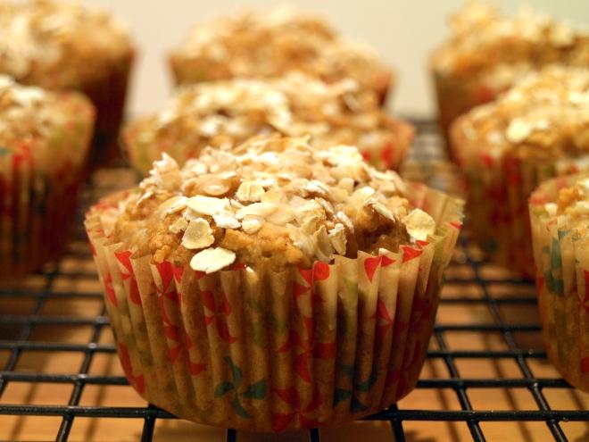 Butternut squash & apple muffins
