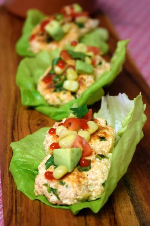 spicy tofu patties